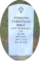 JohannChristianBible_Grave
