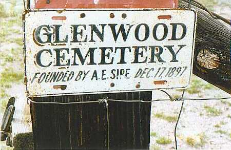 Tombstone Tuesday:  A.E. Sipe (Glenwood Cemetery – Catron County, New Mexico)