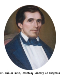 Tombstone Tuesday:  Dr. Haller Nutt – Natchez, Mississippi