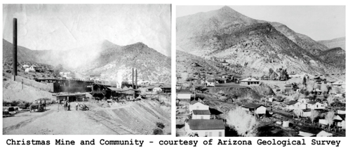 Ghost Town Wednesday:  Christmas, Arizona