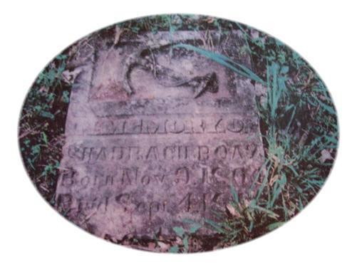 Tombstone Tuesday:  Shadrach Boaz