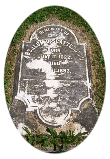Tombstone Tuesday:  Absalom Baker Scattergood
