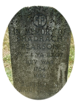 Tombstone Tuesday:  Shadrack, Meshack and Abednego Pierson