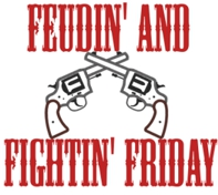Feudin' and Fightin' Friday:  Colorados y Azules (Some Things Never Change)