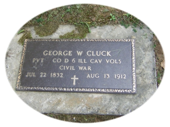 Tombstone Tuesday:  George Washington Cluck, Sr.