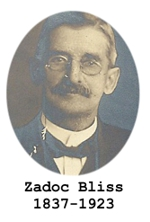 Tombstone Tuesday:  Zadoc Bliss