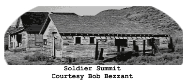 Ghost Town Wednesday:  Soldier Summit, Utah