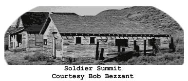 Ghost Town Wednesday:  Soldier Summit, Utah