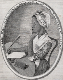 Feisty Females:  Phillis Wheatley