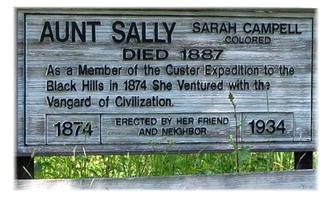 "Feisty Females:  Sarah Campbell a.k.a. ""Aunt Sally"""
