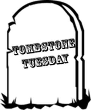 Tombstone Tuesday:  Kinnis and Pocahontas Fritter