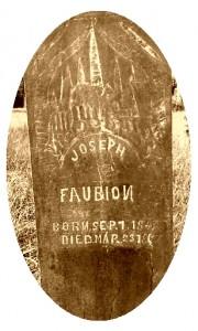JosephFaubion_Grave