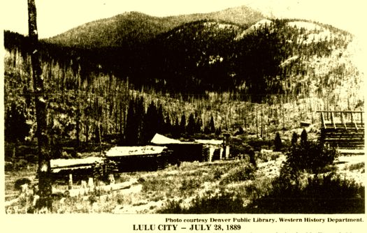 Ghost Town Wednesday:  Lulu City, Colorado