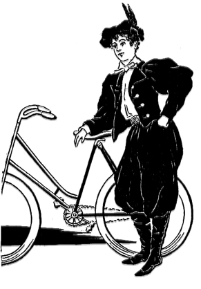 Victorian Fashion:  Bicycles, Bloomers and Suffrage