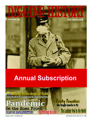 Annual Magazine Subscription