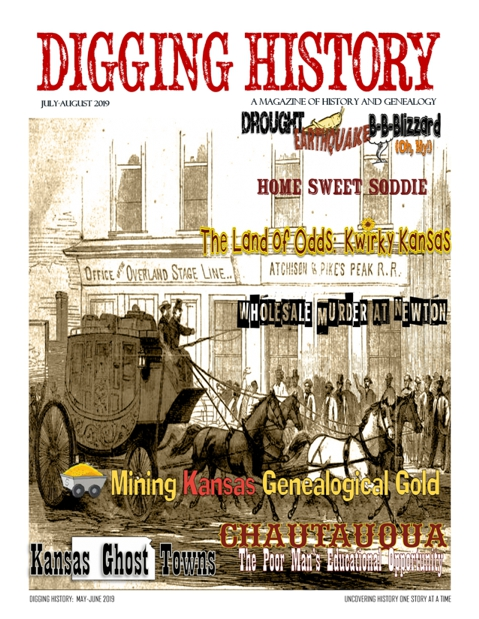 Digging History Magazine:  July-August Issue Features Kansas